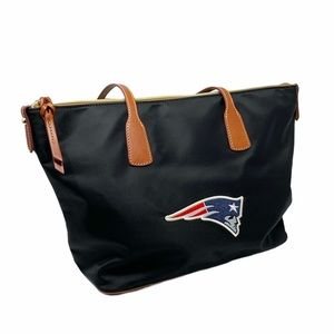 Dooney & Bourke N.E. Patriots Top ZIP Tote
